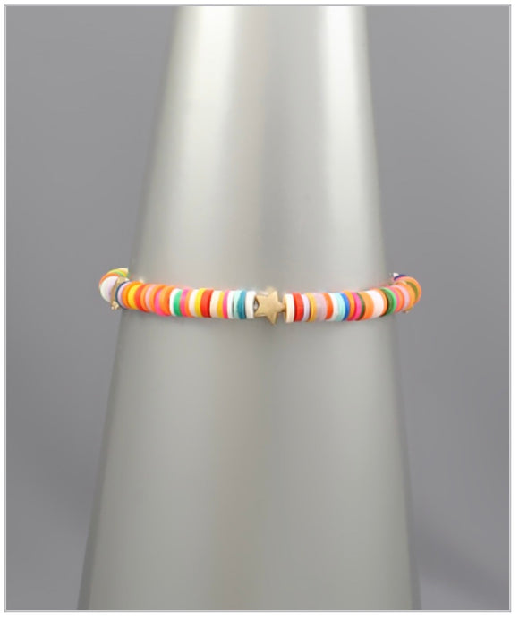 Maci Stretch Bracelet - Multi