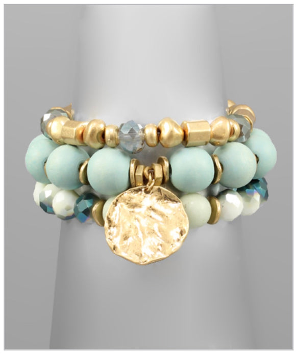 Sienna Bracelet Set - Mint