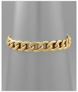 Nola Link Braclet - Toggle Clasp