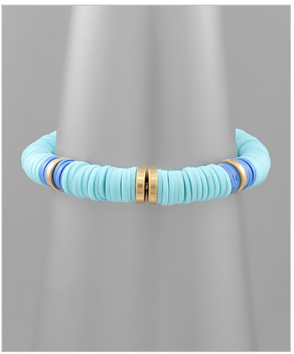 Dakota Stretch Bracelet - Blue