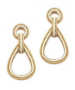 Yacht Life Earrings - Ivory