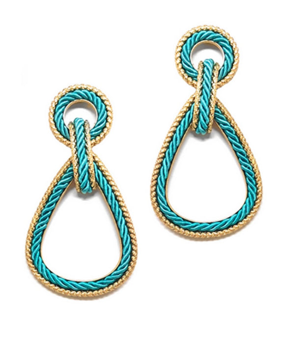 Yacht Life Earrings - Turquoise