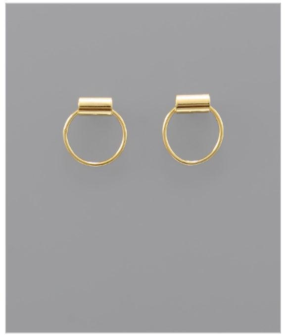Roxy Stud Earrings - 14k Dipped