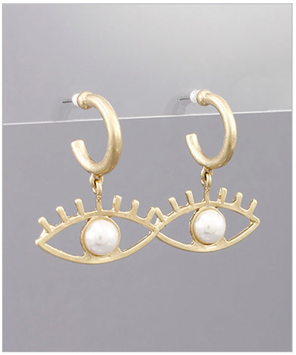 Eva Hoop Earrings