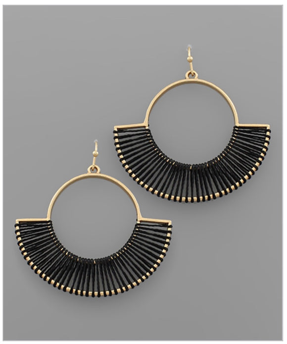 Emery Earrings - Black