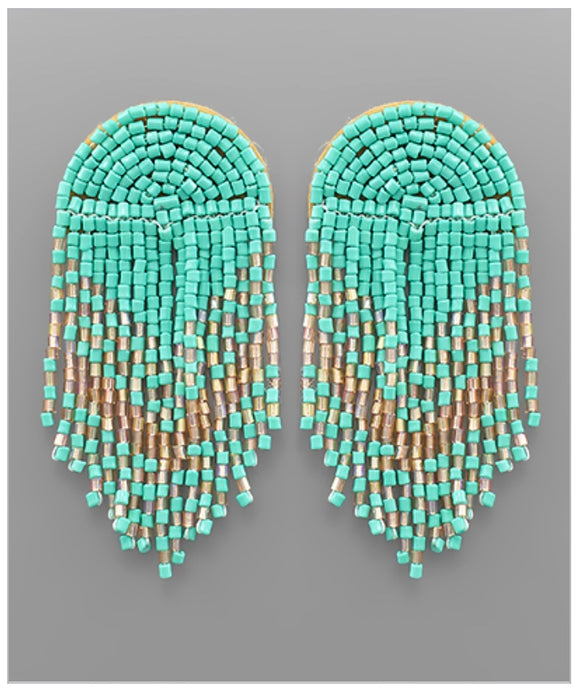 Waterfall Earrings - Mint