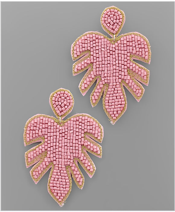 Palm Springs Earrings - Pink