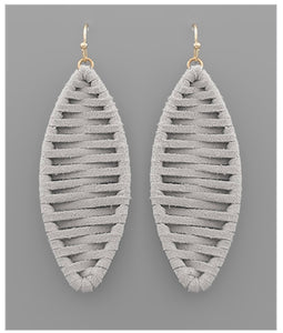 Berkley Earrings - Gray
