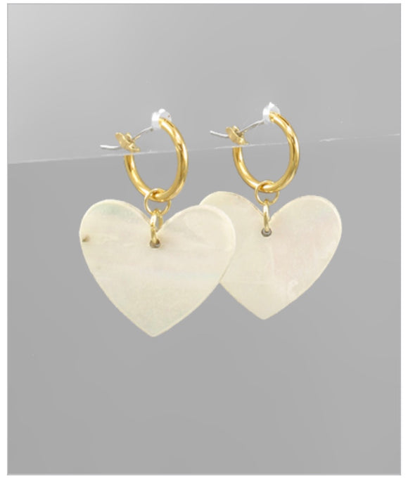 Amore Hoop Earrings