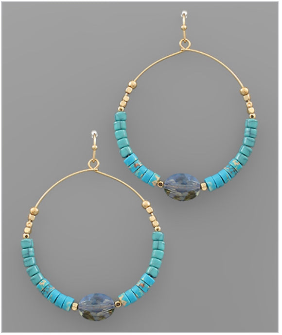 Adair Earrings - Turquoise