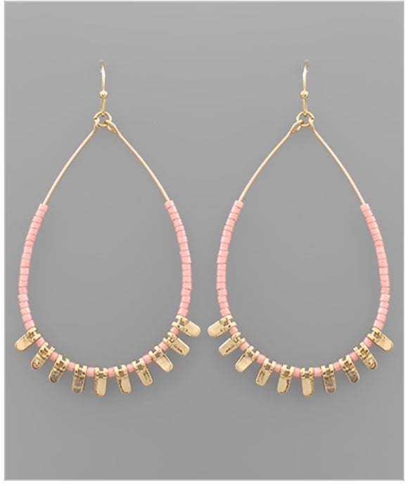 Piper Earrings - Pink