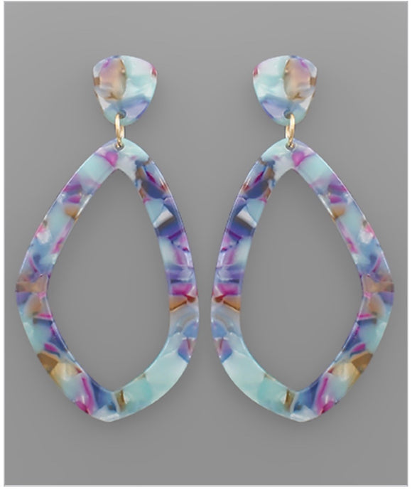 Gisele Earrings - Blue/Multi