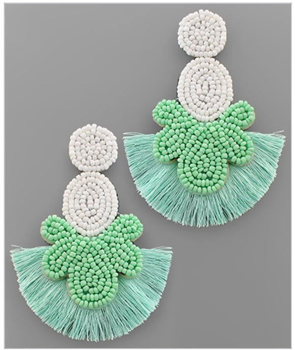 Briar Earrings - Mint