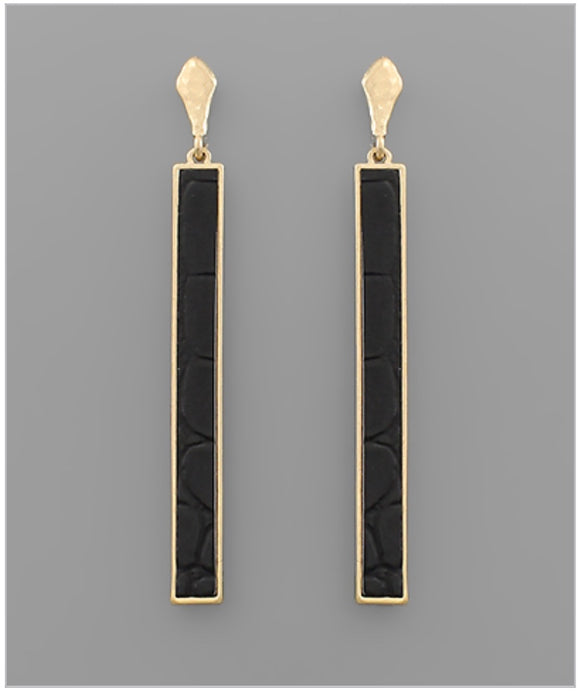 Caroline Earrings - Black