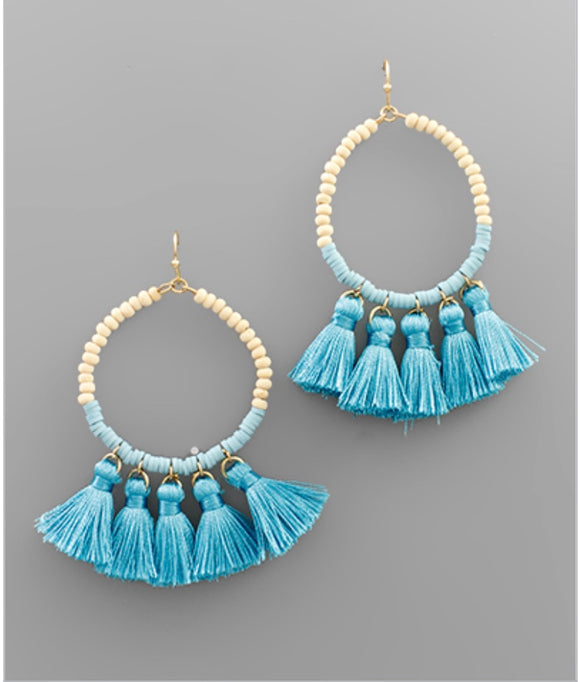 Eliza Earrings - Turquoise