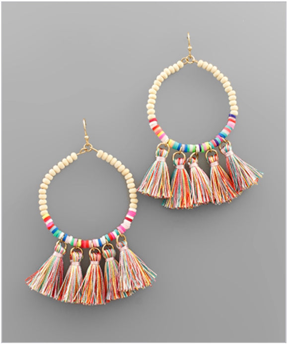 Eliza Earrings - Multi
