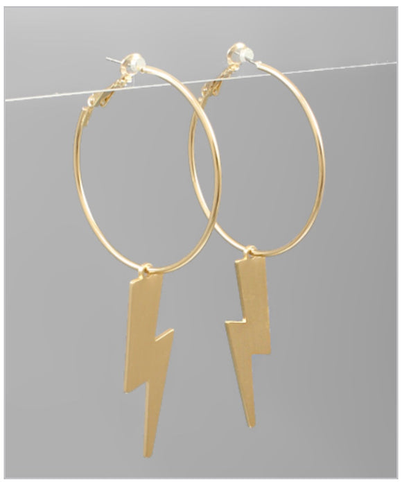 Micki Hoop Earrings