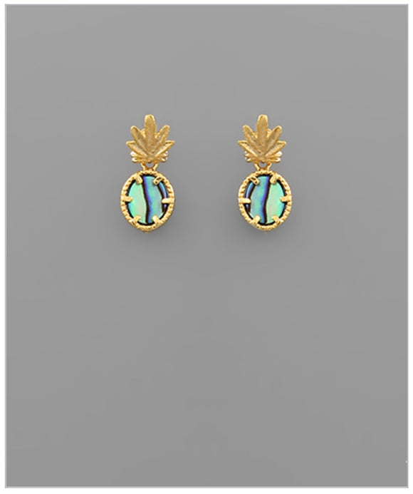 Sweet Like Pineapple Earrings