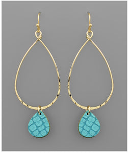 Misty Earrings - Turquoise