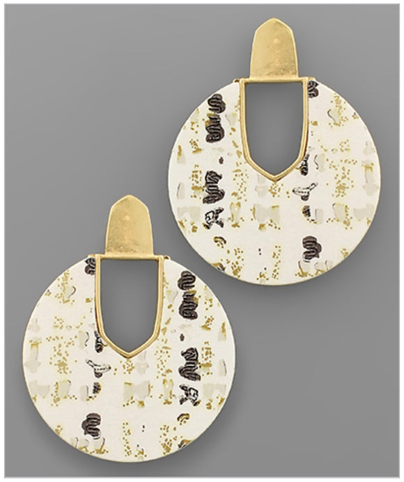 Kenzie Earrings - Ivory