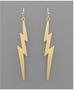 Golden Strike Earrings
