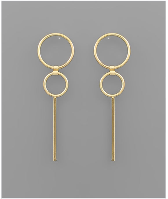 Maddox Earrings - 14k Gold Dipped