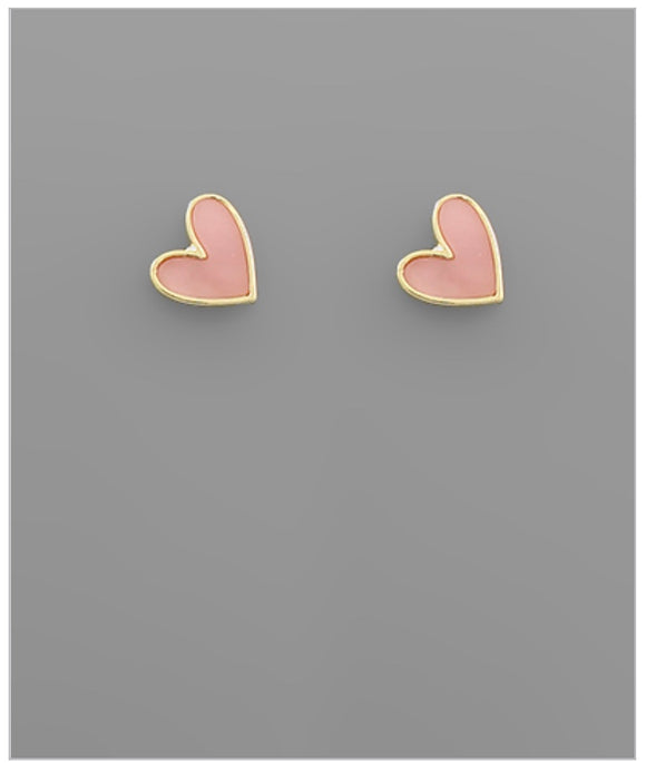 Valentina Earrings - Pink