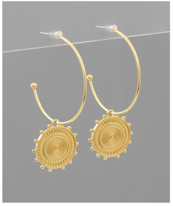 Seraphina Hoop Earrings