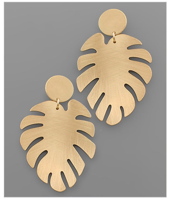 Lady Palm Earrings