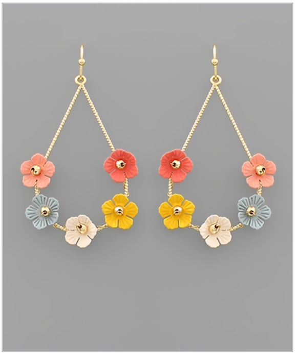 Poppy Earrings - Multi
