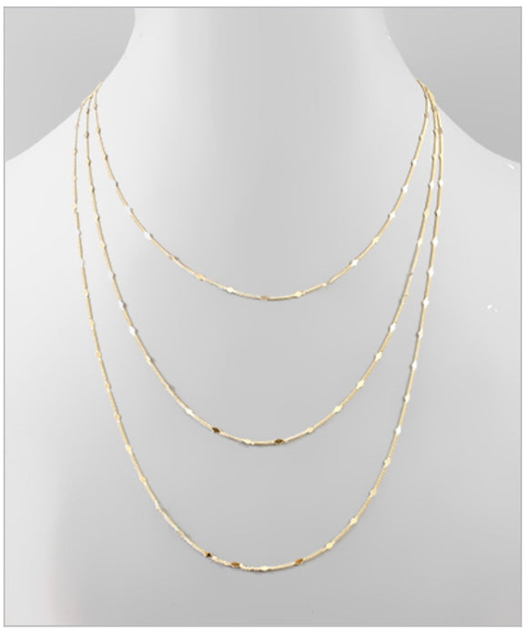 Victoria Layer Necklace