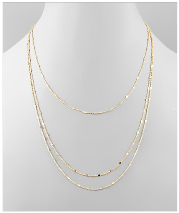 Vanessa Layer Necklace