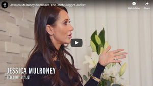 Jessica Mulroney discusses the Lauren Bagliore Dante Dagger leather Jacket