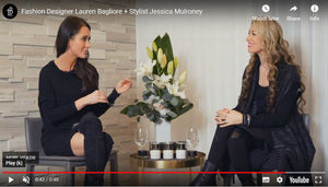 Jessica Mulroney discusses the Lauren Bagliore collection