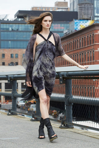 New York, Bergamo Convertible Dress, 100% silk