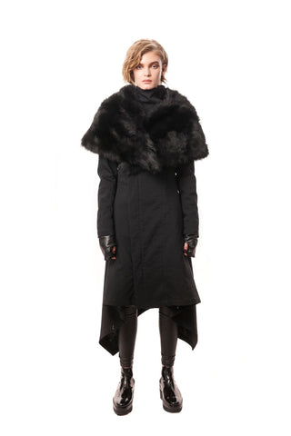 Baker Street Coat Lightweight Black