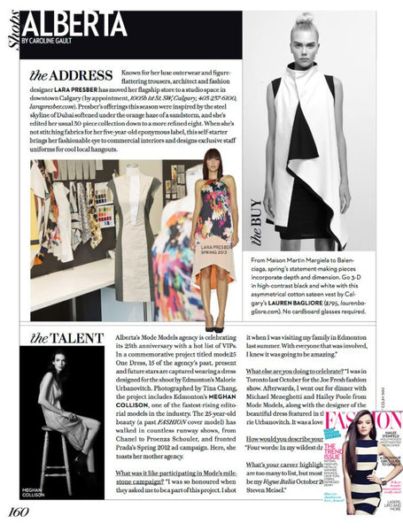 Fashion Magazine Lauren Bagliore Concept Shop