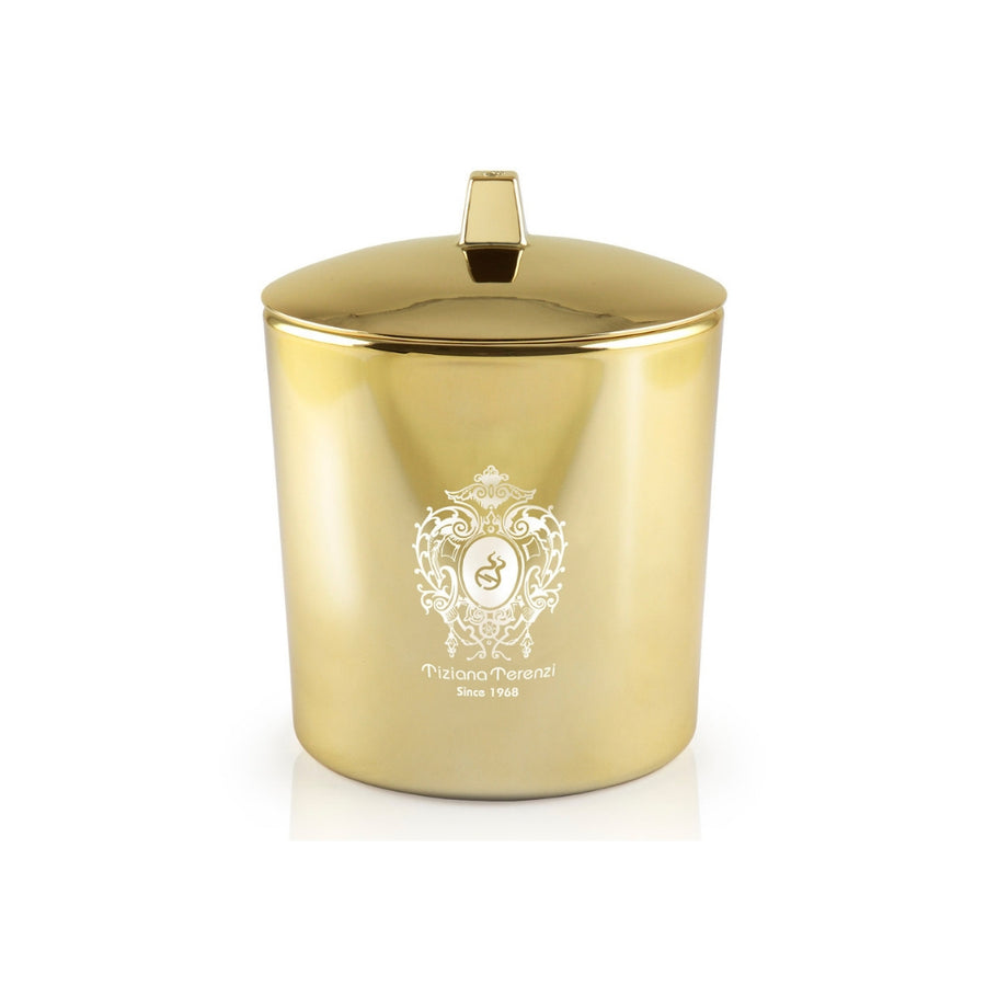 Tiziana Terenzi, 'Orion' Candle,  Gold Glass