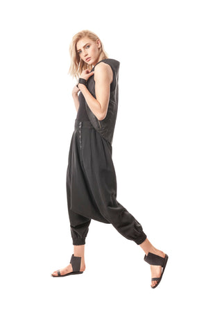 Drop-Crotch Japanese Pant, comfortable and chic