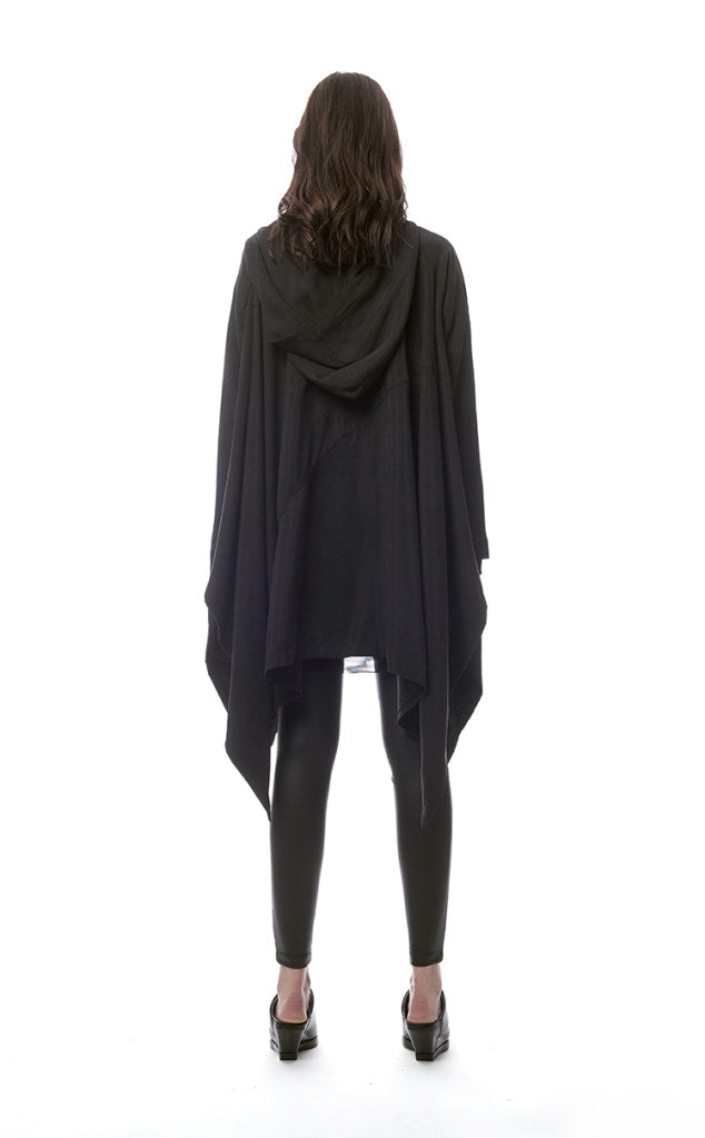 Posillipo Hooded Poncho/ Jacket