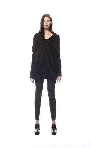 Centane Criss Cross Wrap Sweater
