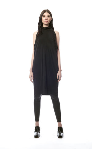 Benedetta Peek-A-Boo Convertible Batwing Dress
