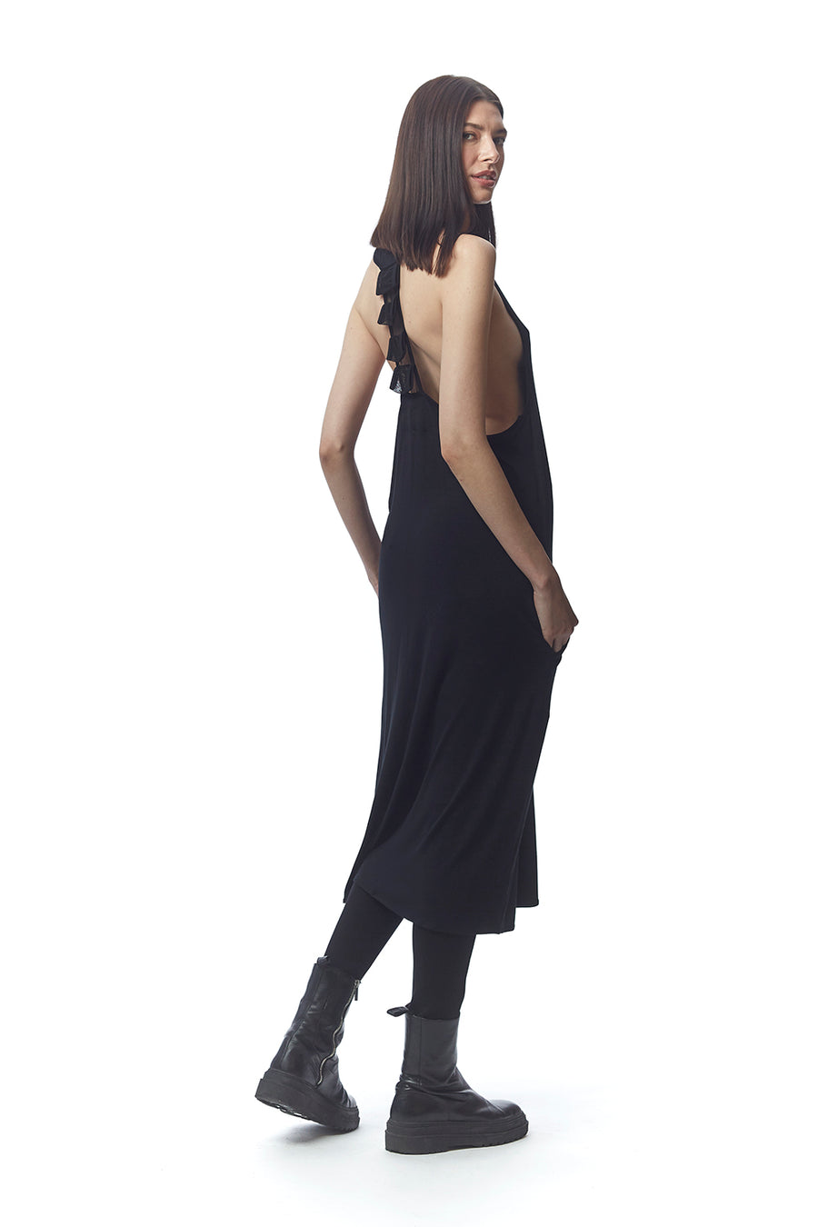 Vibonati Vertebrae T-Back Dress