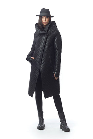 Civita Quilted Puffy Coat