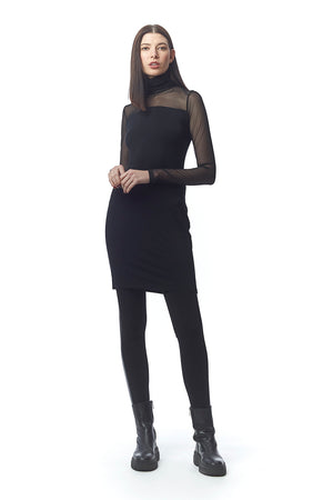 Sofia Sultry Turtleneck Dress