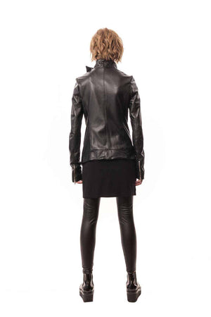 Dante Dagger Jacket (Italian Lamb Leather)