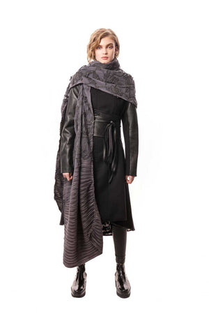 Yoshiaki Wrap, edgy and elegant