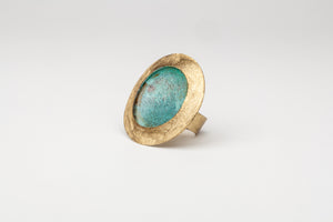 Italia: Bronze Greek Circular Ring