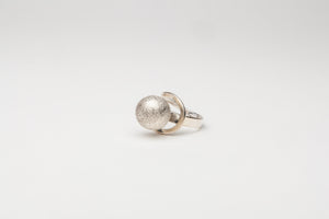Adjustable Limited Edition Silver Ring