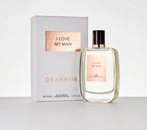 "Dear Rose Perfume ""I Love My Man"", France perfume"